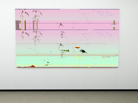 Raphael Brunk I #d6d0cf I 2020 I 300 x 170 cm I UV-Print on Alucore