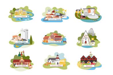 Raaseporin kylät