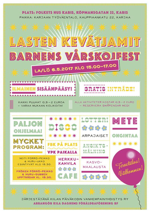 Lasten kevätjamit / Barnens vårskojfest