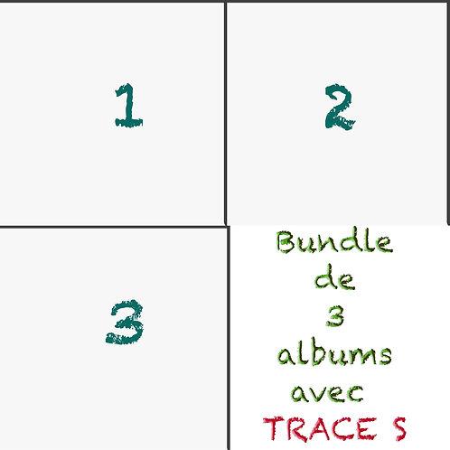 Bundle 3 albums au choix ( 2 albums au choix+ TRACE S double CD)