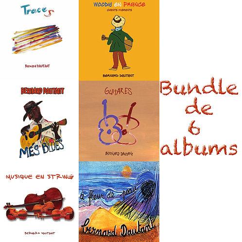 Bundle 6 albums