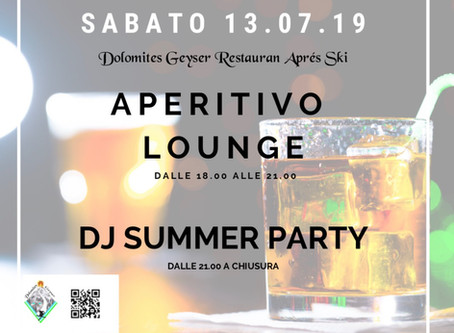 APERITIVO LOUNGE&DJ PARTY