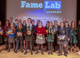 FameLab Academy 2019 - congrats!