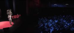 Jules at TEDx at the Hackney Empire