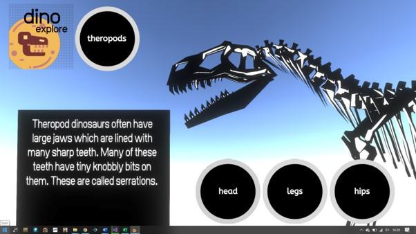 Discover the secrets of dinosaur skeletons!