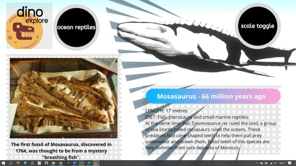Explore some spectacular fossils!