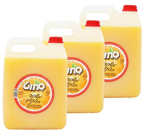 3 גלונים של תפוזים 5 ליטר