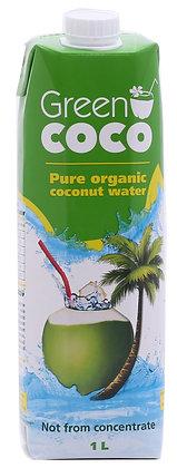 מי קוקוס 1 ליטר Green coco