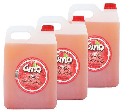 3 גלונים של משקה קל אשכוליות 5 ליטר