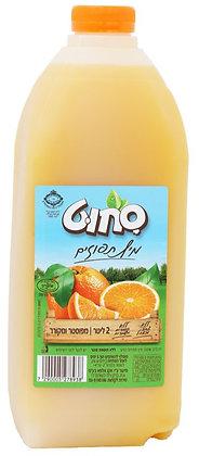 תפוזים פרימיום 2 ליטר - 100% פרי ללא תוספות