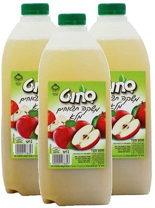 שלישיית 2 ליטר תפוח עץ פרימיום - 100% פרי ללא תוספות