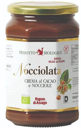 ממרח אגוזי לוז אורגני חלבי Nocciolata