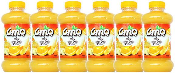 6 x תפוז בננה 500 מ''ל