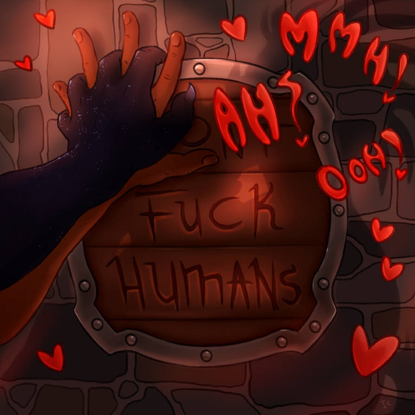 Fuck Humans Main Podcast Art