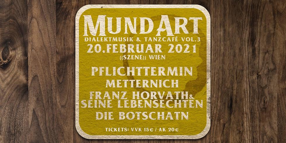 MundArt Dialektmusik Vol.3
