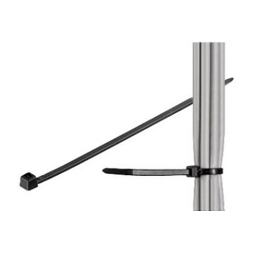 Abraçadeira Fivela Preta - 280x4.5mm
