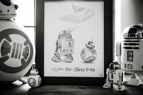 star wars, new hope, therapy, bb8, r2d2