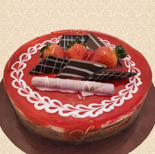 Μους σοκολάτα φράουλα