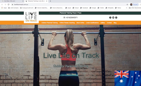 Live Life on Track Online & Personal Training