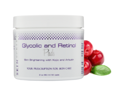Glycolic and Retinol Pads (2oz 50count/pkg)