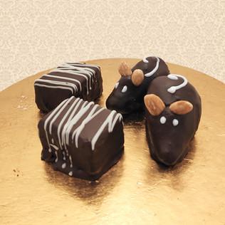 σοκολατένιες μπουκιές