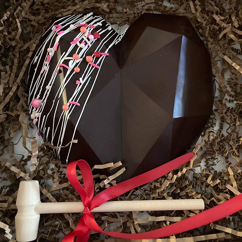 Smashable Chocolate Heart