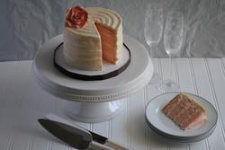 nc wedding cake champagne layers