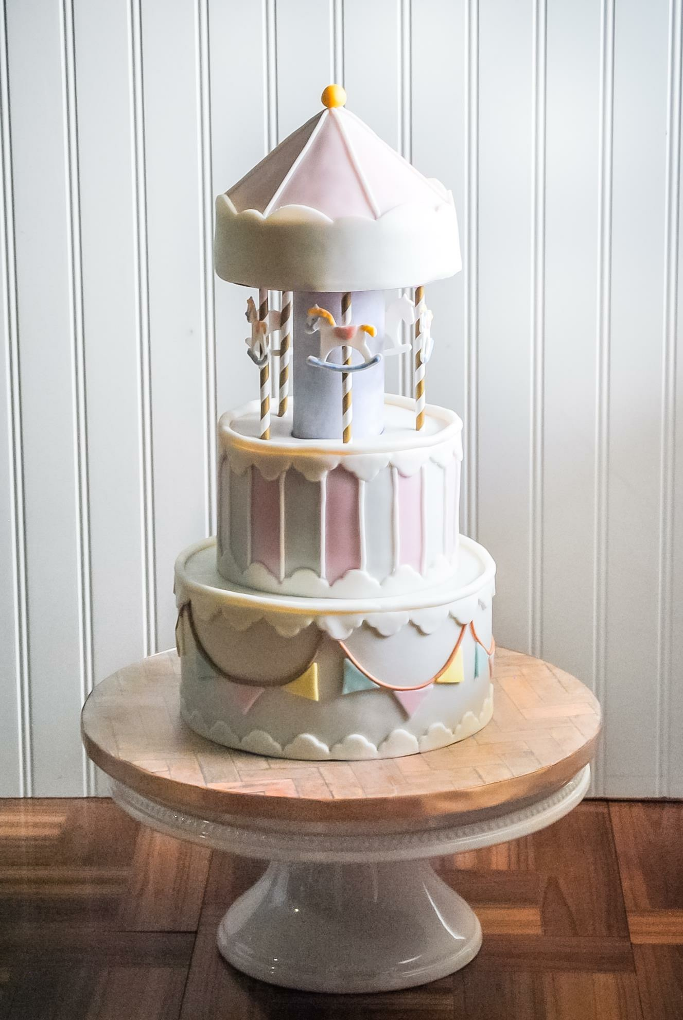 nc wedding cake carousel