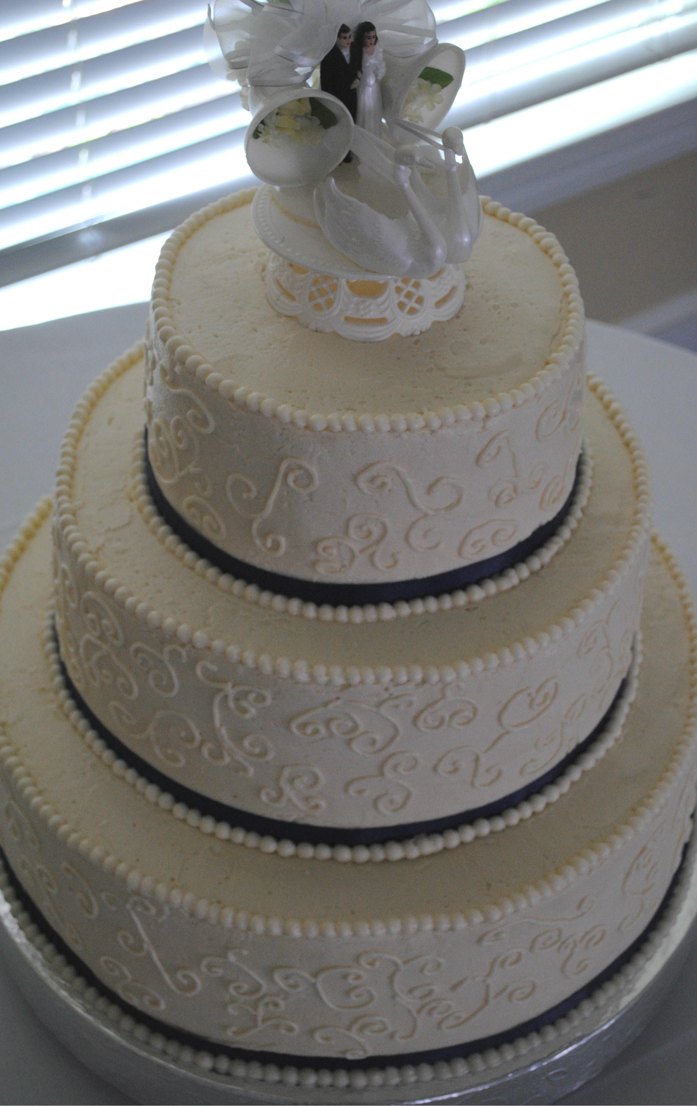 nc wedding cake classic