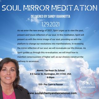 January 29, 2021 Meditation Flyer