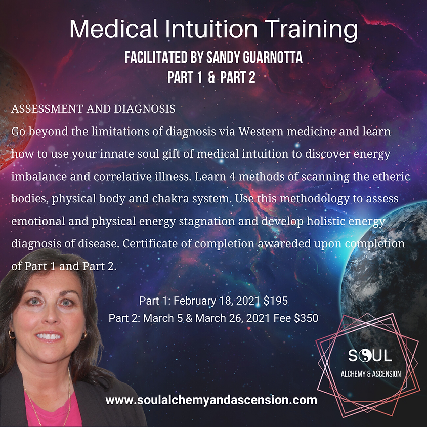 Medical Intuition Training Part 1