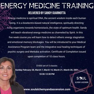 Energy Medicine Flyer