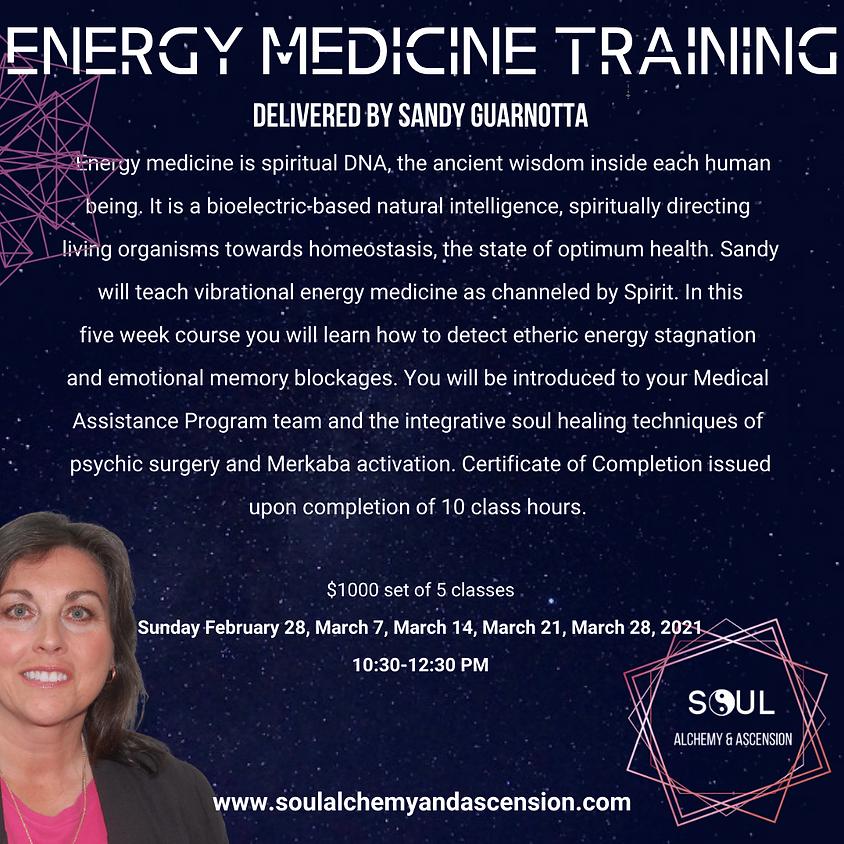 Energy Medicine Training