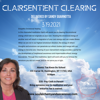Clairsentient Clearing