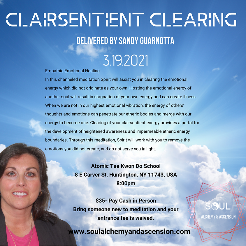 Clairsentient Clearing: Empathic Emotional Healing