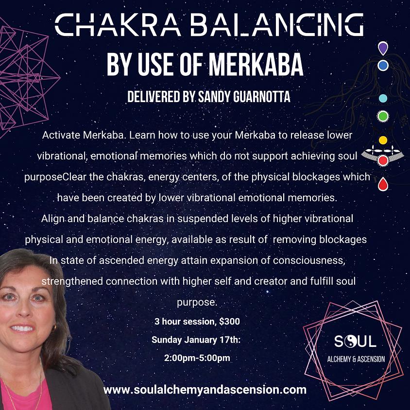 Chakra Balancing by Use of Merkaba