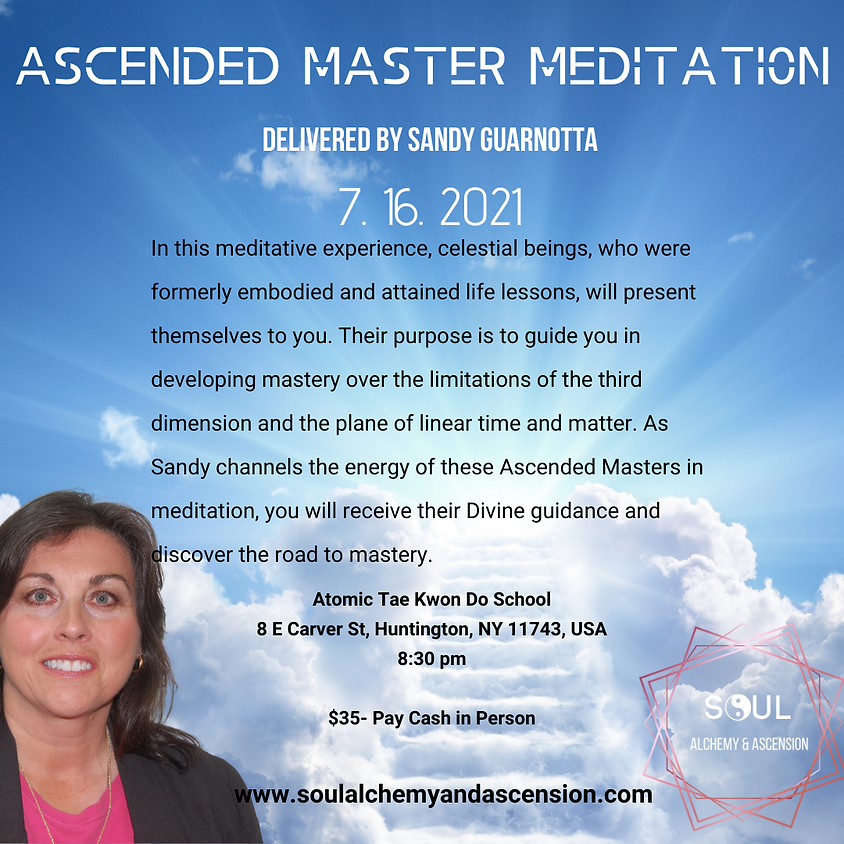 Ascended Master Meditation