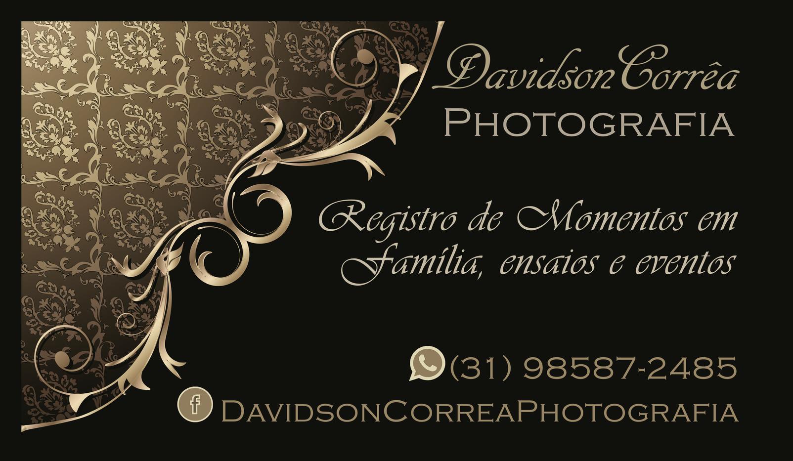 Cartão visita cliente Davidson