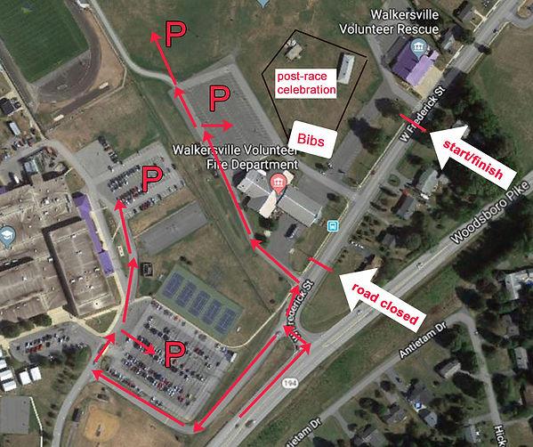 2021 SS8k Venue Map, including parking.j