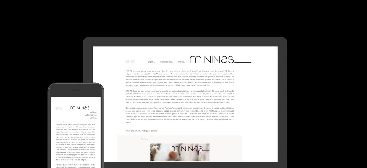 Revista Mininas