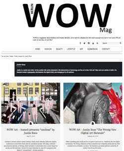 Featured in WoW Berlin Magazine