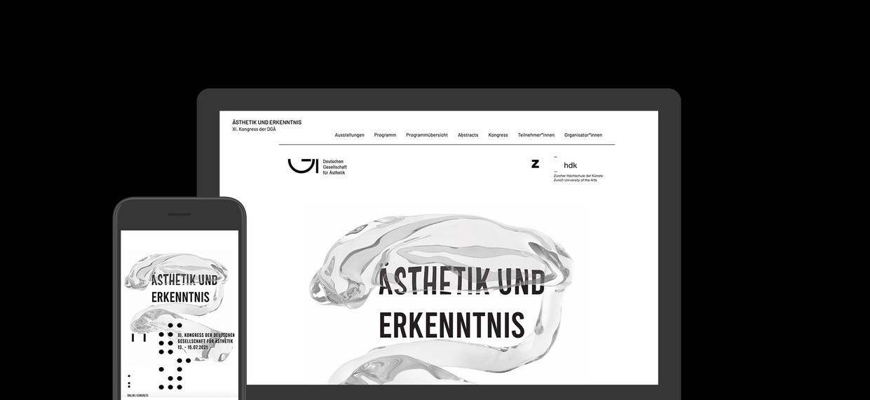 Ästhetik und Erkenntnis XI. Kongress der DGÄ with Zurich University of the Arts