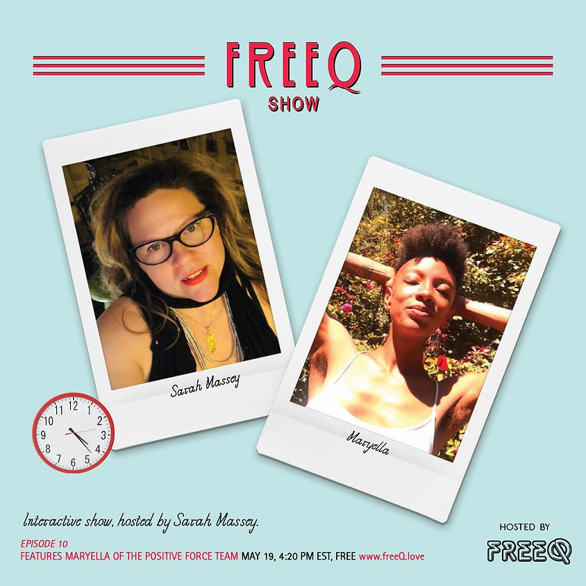 freeQ show with Sarah Massey  (1)