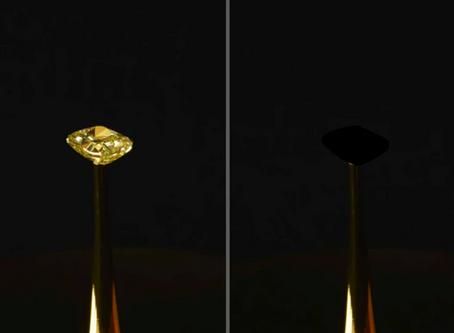 MIT engineers created a black that's blacker than vantablack