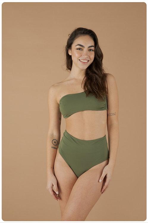 Fascia e culotte verde salvia