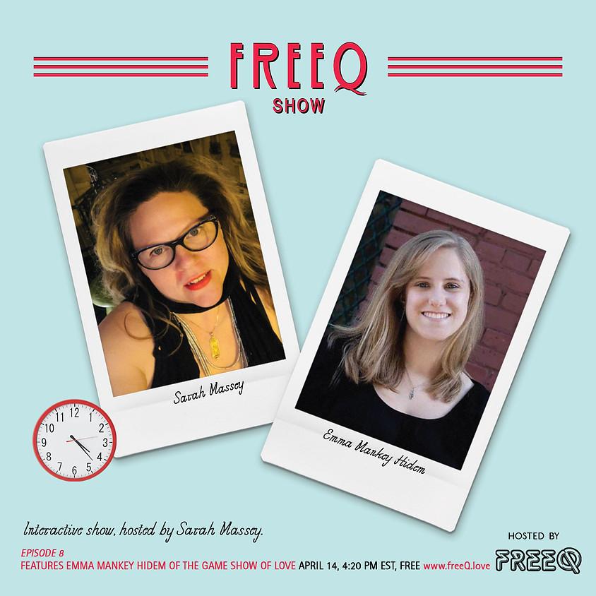 freeQ show with Sarah Massey