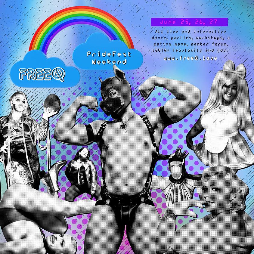 freeQ PrideFest weekend