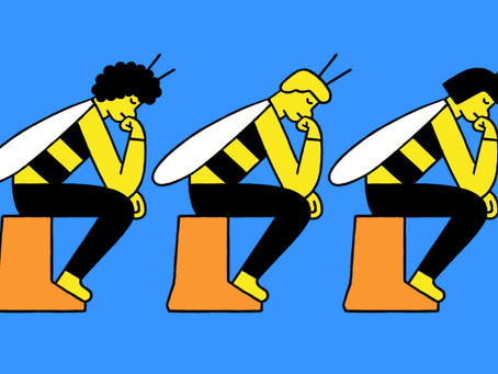 If you want to take on big problems, try thinking like a bee