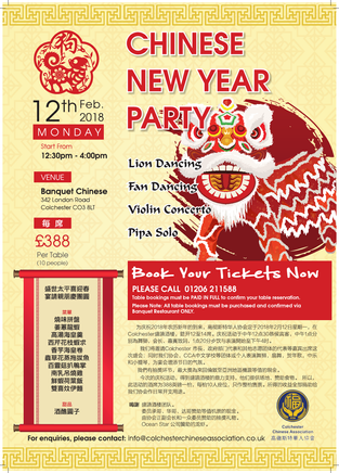 Chinese New Year Party 2018