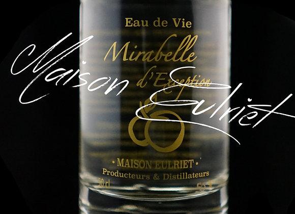 """Eau de Vie Vieillie en fût Mirabelle Bio Exception """"Forte"""" 35cL 50%"""